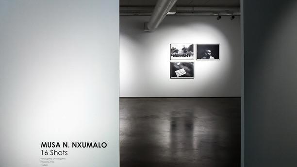 MUSA N. NXUMALO 16 Shots 06.04.17 – 29.04.17  Johannesburg