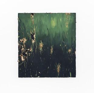 Jake Aikman | Hewn II | 2017 | Oil on Board | 61 x 54 cm