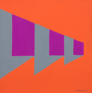 Trevor Coleman | Untitled | 1973 | Collage on Paper | 30 x 20 cm