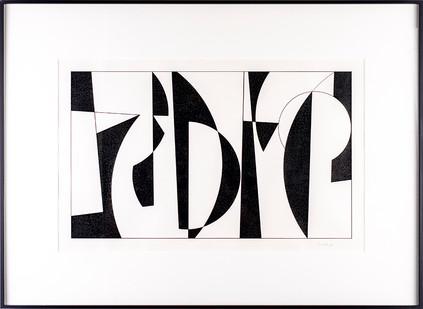 Albert Newall | Untitled | 1956 | Mixed Media on Paper | 27 x 43 cm