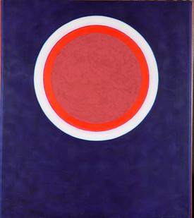 Hannatjie van der Wat | Zero | 1969 | Acrylic and Sand on Canvas | 172.5 x 152.5 cm