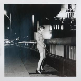 Sophy Rickett | Vauxhall Bridge (from Pissing Women Series) | 1995 | Bromide Print | 40.5 x 29.5 cm