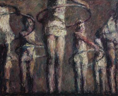 Anton Karstel | /1939-Glaube-und-Schoenheit (VIII) | 2014 | Oil on Canvas | 170 x 210 cm