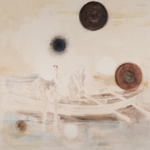 Uwe Wittwer | Boot (Boat) | 2012 | Watercolour on Paper | 127 x 111.5 cm