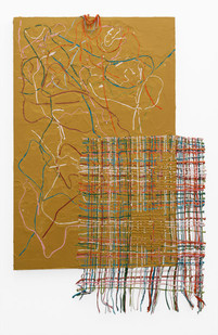 Gabrielle Kruger | Unravel | 2020 | Acrylic on Board | 153 x 100 cm