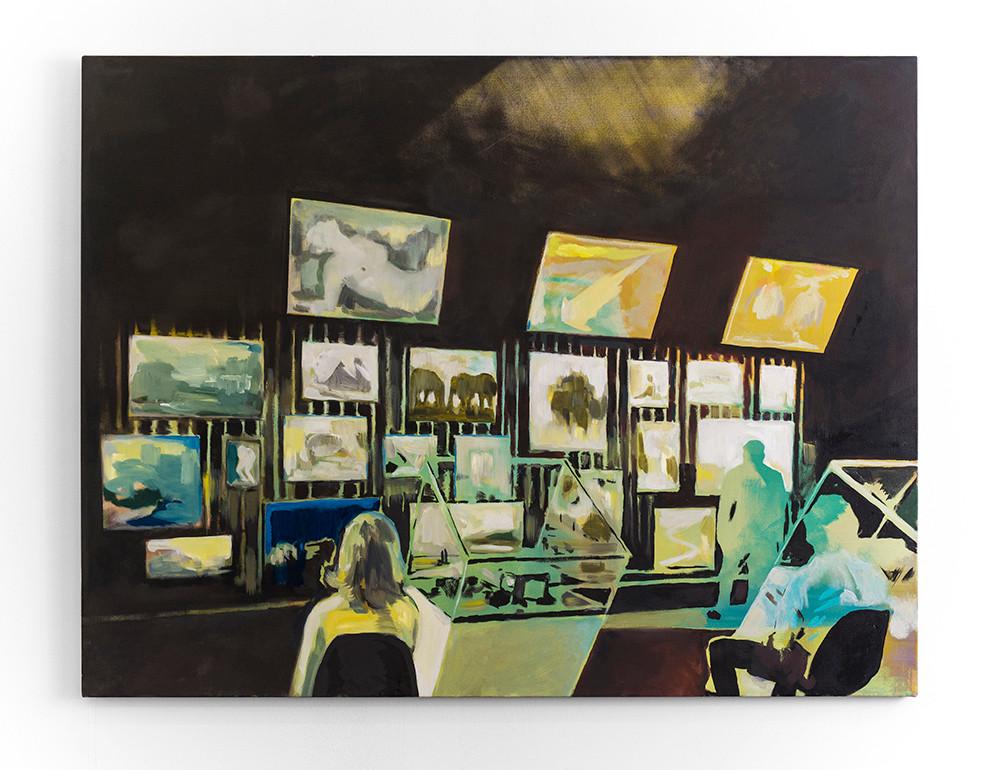 Kate Gottgens | Feed | 2016 | Oil on Canvas | 115 x 150 cm