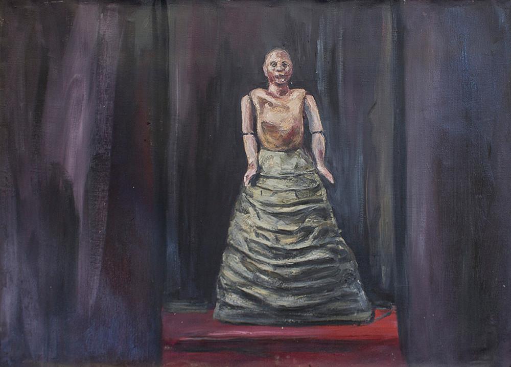 Johann Louw | Studie - Maquette | 2015 | Oil on Canvas | 97 x 135 cm
