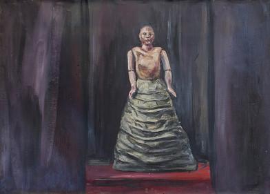 Johann Louw   Studie - Maquette   2015   Oil on Canvas   97 x 135 cm