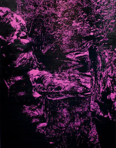 Peter Eastman | Deep Chine XXIX | 2014 | Oil on Aluminium | 150 x 118 cm