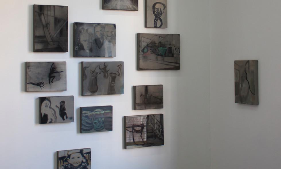 Kate Gottgens | Infinite Loop | 2015 | Installation view