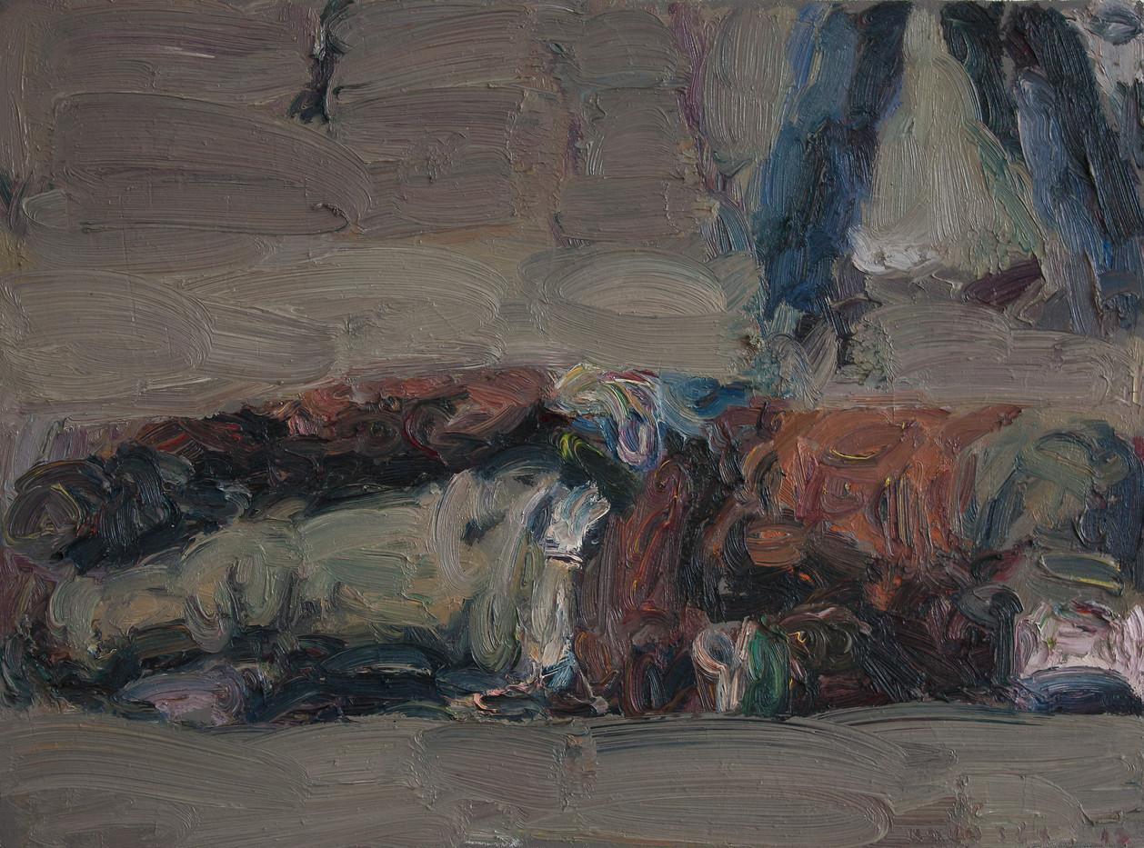 Anton Karstel | Marikana (5) | 2013 | Oil on Canvas | 40 x 54 cm