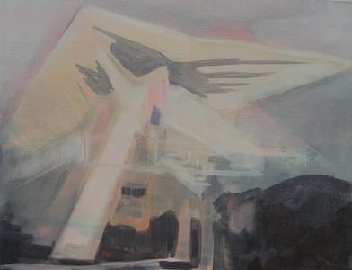 Kate Gottgens | Newlands Pool | 2012 | Oil on Canvas | 36 x 46 cm