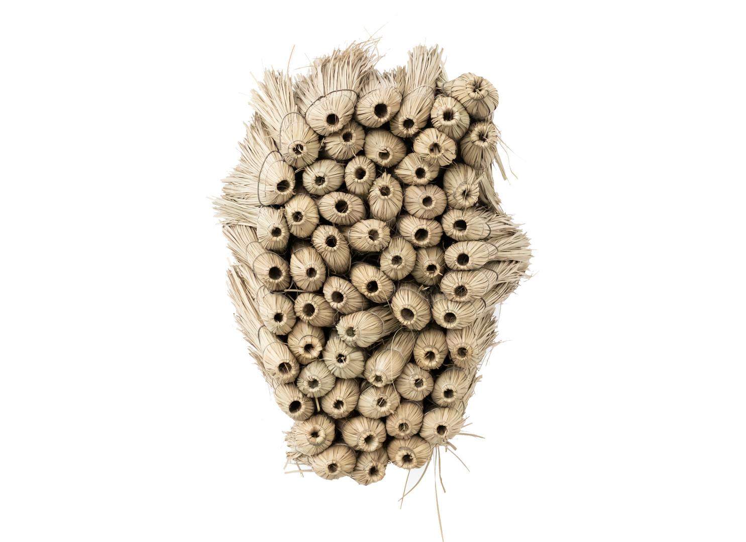 Usha Seejarim | Home 2 | 2019 | Grass Brooms and Wire | 80 x 56 x 60 cm
