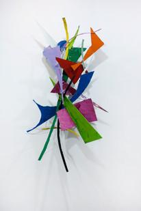 Barend de Wet | Object made to look like art VI | 2012 | Enamel Paint on Steel | 153 x 88 x 33 cm