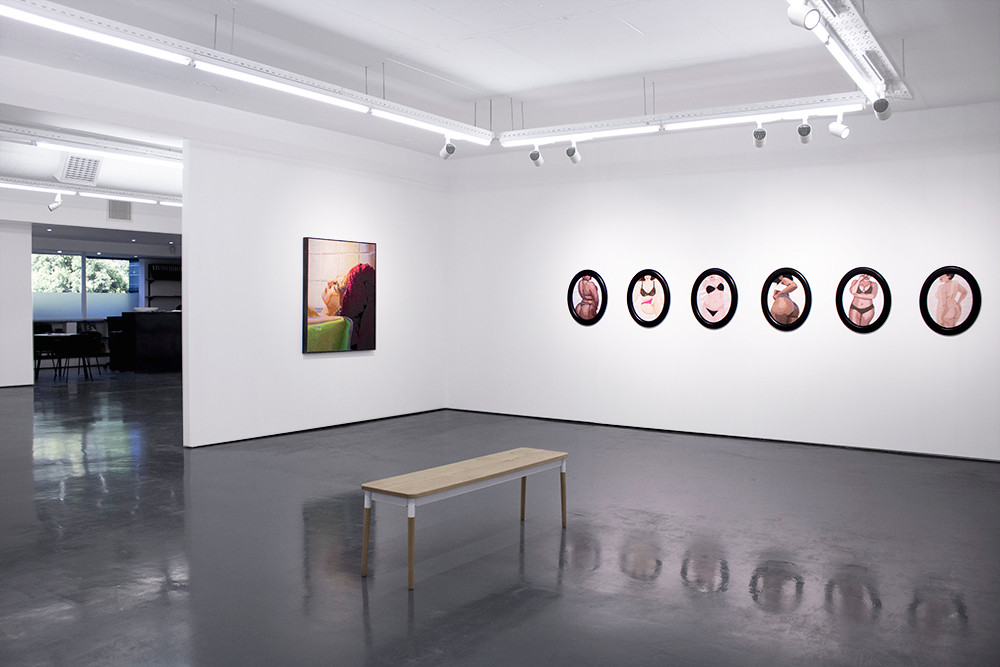 Frances Goodman | offstage | 2018 | Installation View