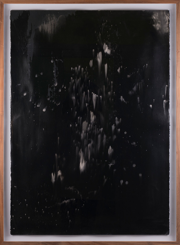 Alexandra Karakashian | Undying XIII | 2017 | Oil on Sized Paper | 100 x 70 cm