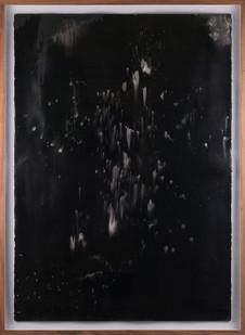 Alexandra Karakashian   Undying XIII   2017   Oil on Sized Paper   100 x 70 cm