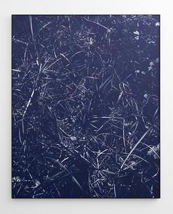 Peter Eastman | River Bank I | 2018 | Oil on Aluminium | 185 x 148 cm