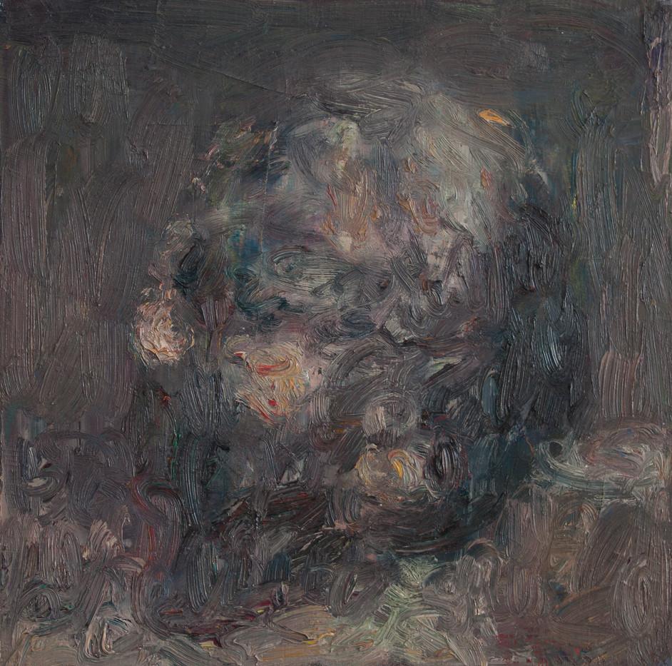 Anton Karstel | watch (8) | 2014 | Oil on Canvas | 37 x 37 cm