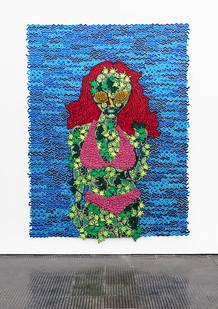 Jody Paulsen | Tasty | 2020 | Felt Collage | 132.5 x 117 cm