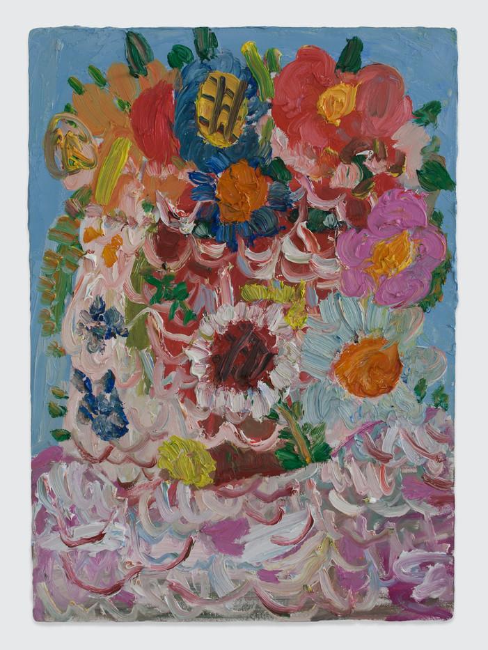 Georgina Gratrix | Tulbagh Bride | 2014 | Oil on Board | 70 x 50 cm