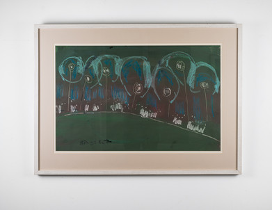 Charles Gassner   Untitled   n.d.   Drawing   105 x 76 cm