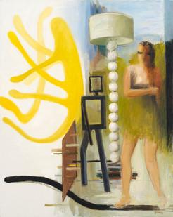 Simon Stone   Triple Summersault   2014   Oil on Canvas   116 x 93 cm