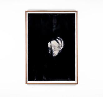 Alexandra Karakashian   Undying XLVIII   2018   Oil on Sized Paper   99 x 70 cm