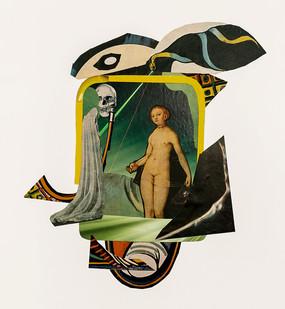 Kate Gottgens   Room 237   2020   Collage on Paper   75 x 57 cm