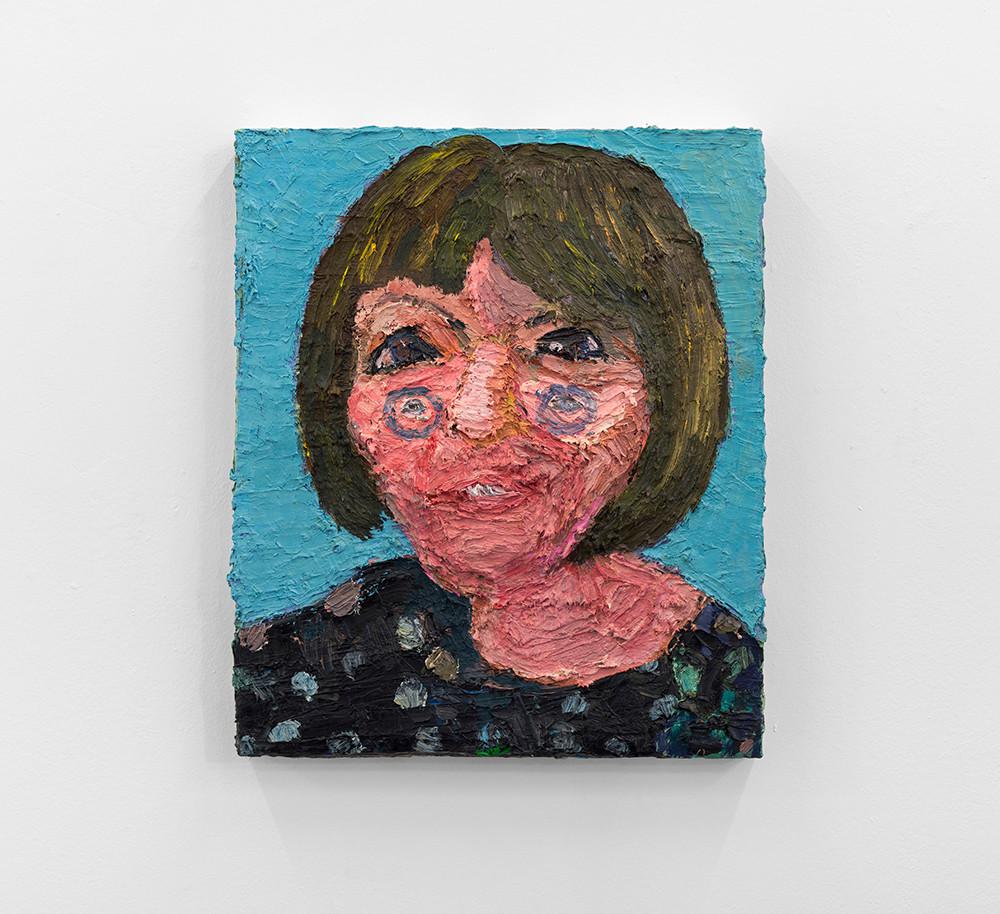 Georgina Gratrix | Daghilde | 2013 | Oil on Canvas | 60 x 50 cm