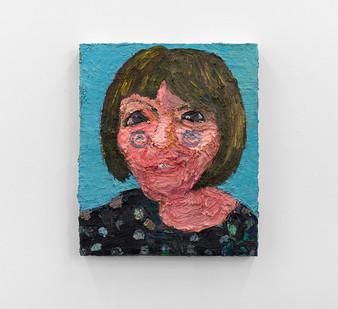 Georgina Gratrix   Daghilde   2013   Oil on Canvas   60 x 50 cm