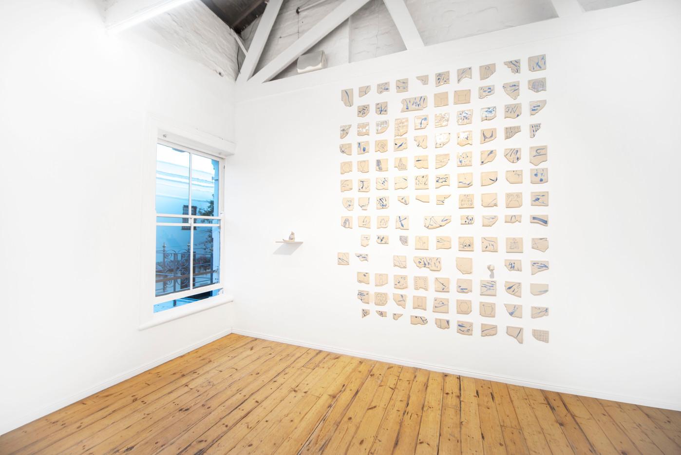 Colijn Strydom   A history of a breath   2020   Glazed Ceramic Stoneware   Dimensions Variable