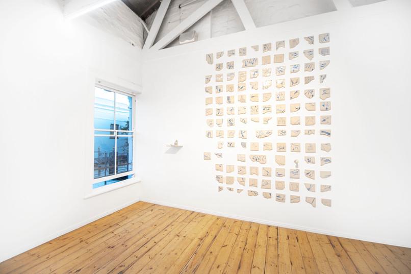 Colijn Strydom | A history of a breath | 2020 | Glazed Ceramic Stoneware | Dimensions Variable