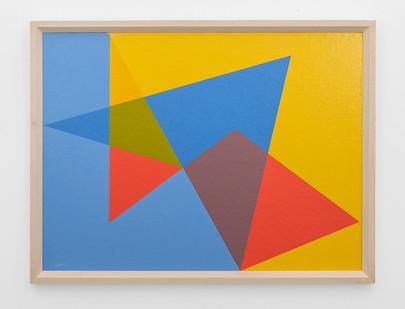 Albert Newall | Untitled | 1958 | Oil on Board | 45 x 60 cm