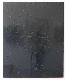 Peter Eastman   Untitled   2013   Enamel and Resin on Aluminium   125 x 100 cm