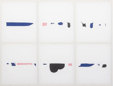 Gerda Scheepers | Showing method, showing message | 2016 | Wood and Fabric | 182 x 240 cm