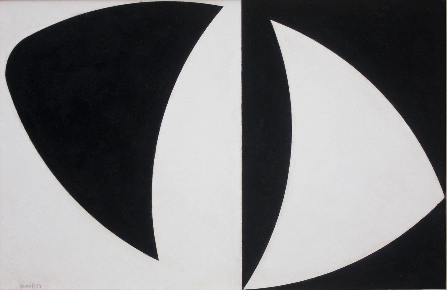 Albert Newall   Untitled   1957   Mixed Media on Board   29 x 44 cm