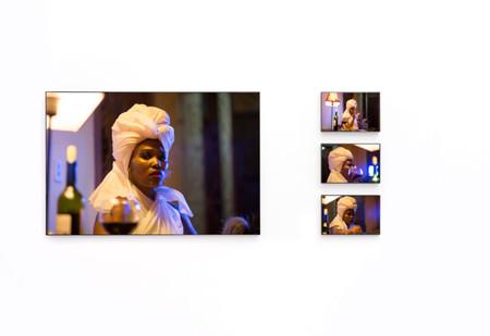 Lhola Amira | Siyeza / Nós Estamos Vindo I - IV | 2020 | Giclée Print on Hahnemühle PhotoRag Baryta, Diasec Mount | 110 x 165 cm with Variable Narrative | Edition of 3 + 2 AP