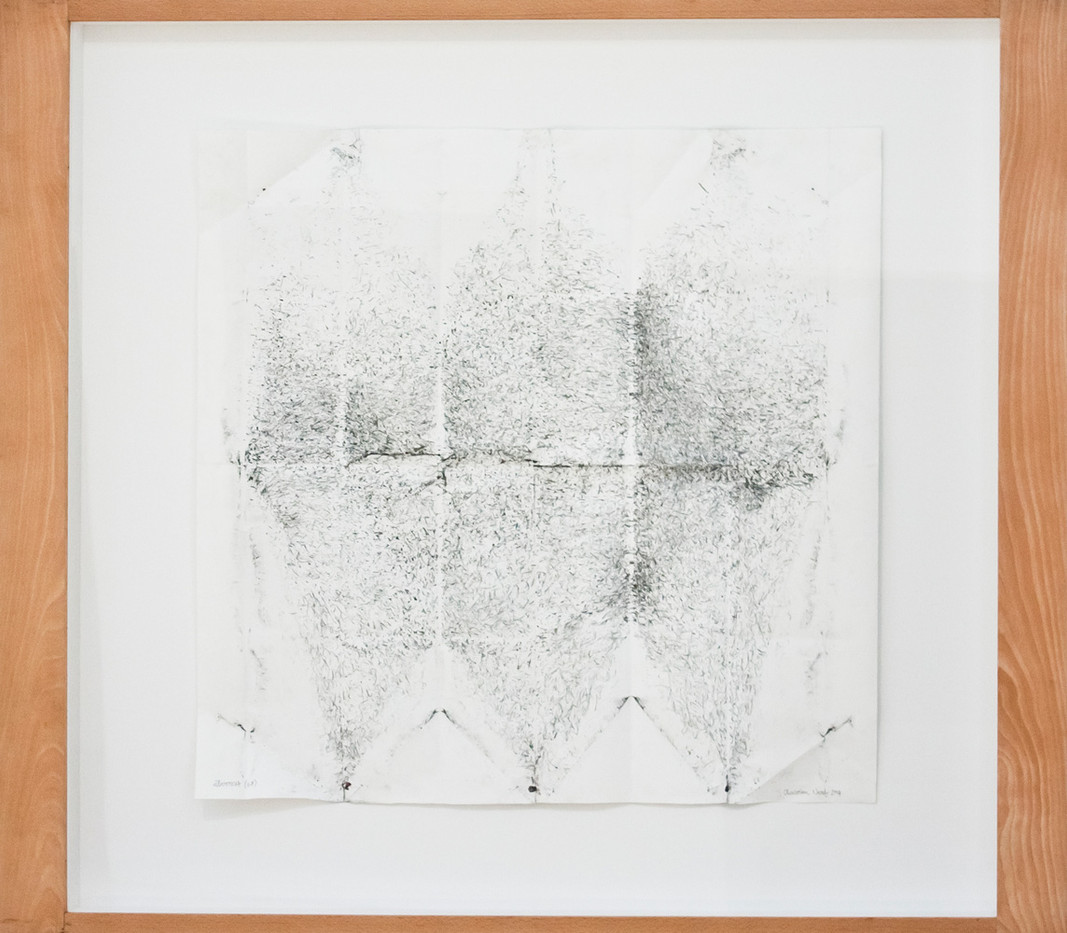 Christian Nerf | Überrest | 2014 | Pencil on Paper | 86 x 88 cm