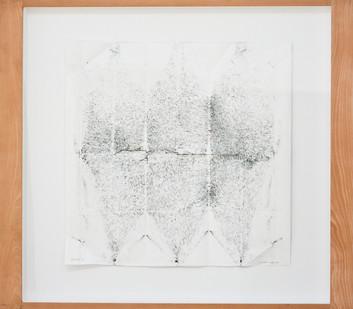 Christian Nerf   Überrest   2014   Pencil on Paper   86 x 88 cm