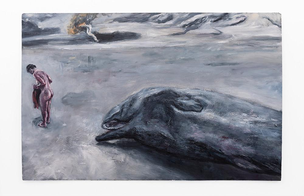 Johann Louw   Silwerstrand   2019   Oil on Canvas   122.5 x 189 cm