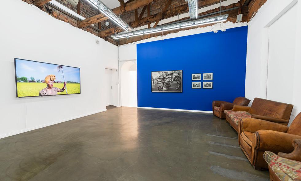 Lhola Amira | Three Films | 2020 | Installation View