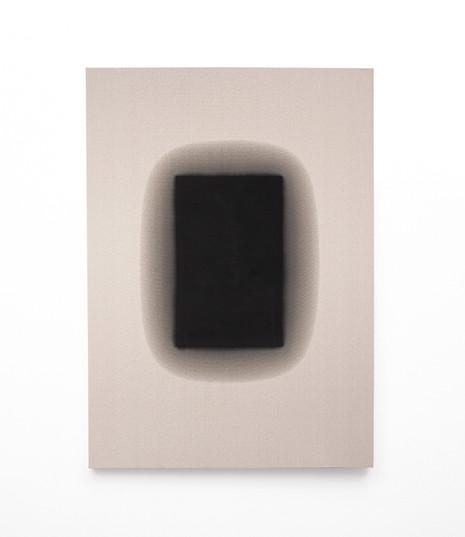 Alexandra Karakashian   Flare   2021   Used Engine Oil, Black Pigment and Sunflower Oil on Canvas   240 x 170 cm