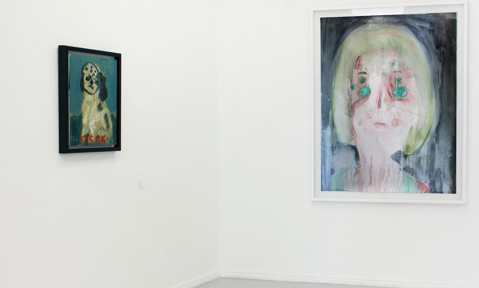 Georgina Gratrix | My Show | 2012 | Installation View