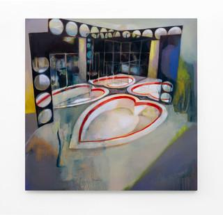 Kate Gottgens   Lacuna (love abandoned)   2020   Oil on Canvas   140 x 140 cm