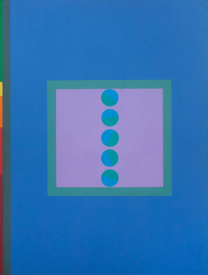 Kevin Atkinson   Untitled   1958   Oil on Canvas   122.5 x 82 cm