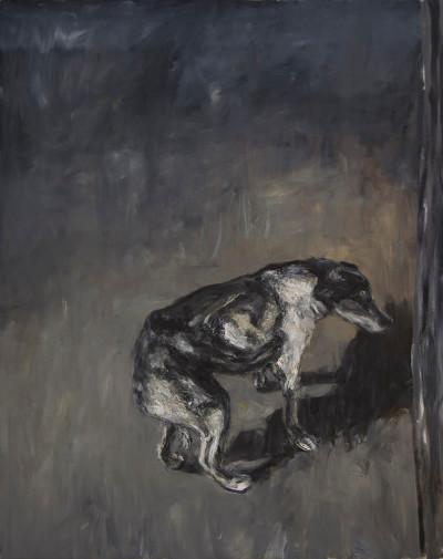 Johann Louw | Na die Honde | 2015 | Oil on Canvas | 213 x 170 cm