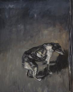 Johann Louw   Na die Honde   2015   Oil on Canvas   213 x 170 cm