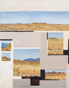 Simon Stone   Single Point   2014   Oil on Board   100 x 78 cm