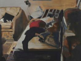 Uwe Wittwer | Interieur | 2008 | Oil on Canvas | 60.5 x 80.5 cm